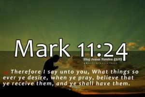 Mark 11-24