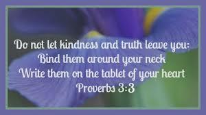 Proverbs 3 1-4