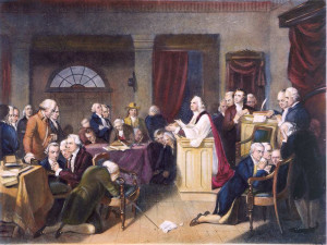 founding fathers praying