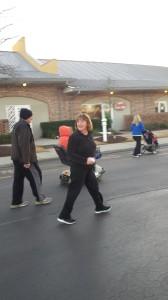 Sharon's Feb Run