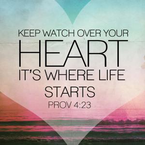 Proverbs 4 23b