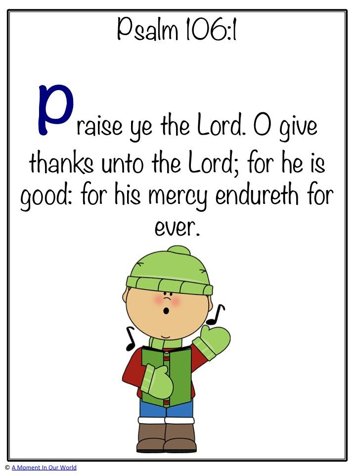 Psalm 106 1d